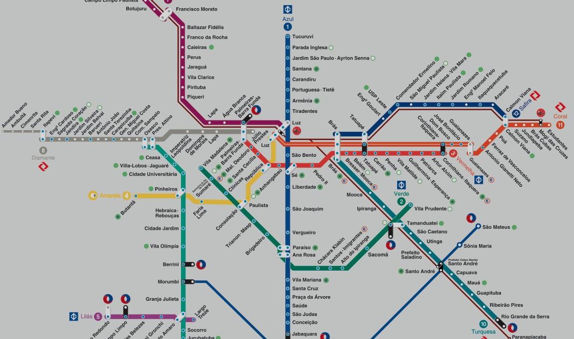 Map Metro SP